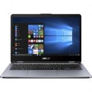 "Лаптоп ASUS VivoBook Flip 14 TP410UR-EC131T 14"" FHD Touch, i5-8250U, 8 GB"