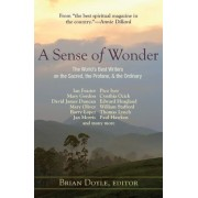 A Sense of Wonder: The World's Best Writers on the Sacred, the Profane, and the Ordinary, Paperback
