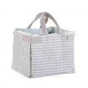 Maisons du Monde MOONLIGHT Grey and White Cotton Play Mat Bag