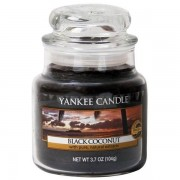 Yankee Candle Black Coconut - Small Jar, Yankee Candle