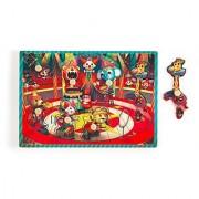 Janod Circus Wood Puzzle 7 pcs.