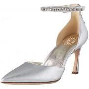 Naturalizer Alyssa Zapatos de tacón para Mujer, Plateado metálico, 5.5 US