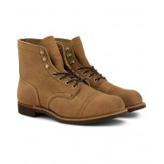 Red Wing Shoes Iron Ranger Boot Hawthorne Muleskin Leather