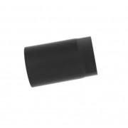 Füstcső 120 × 250mm /2mm fekete, vastag falú Kód:120250