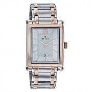 Titan Quartz Multi Rectangle Women Watch 9327KM01
