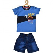 Pomy & Jinny Printed Baba Suit for Kids Boys