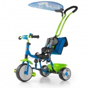 Tricicleta copii Boby Deluxe blue-green