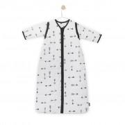Jollein Śpiworek wielosezonowy, 110x51 cm, czarno- biały 016-542-65081