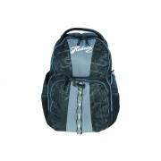 Rucksack, passend für 40 cm (16 Zoll) Laptop, schwarz/grau, Nylon/Polyester, Organisationsfächer
