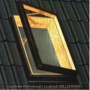 Świetlik dachowy B - 47x77 cm w świetle - szyba zespolona (podwójna)