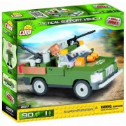 Set de constructie Cobi, Small Army, Tactical support vehicle, 90 piese