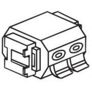 Anam Лицевая панель электрической розетки Anam e-Fren 853214S Серебро