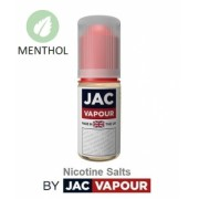 Lichid Tigara Electronica Premium cu Saruri de Nicotina Jac Vapour Smoking Tobacco Menthol, cu Nicotina, 30%VG 70%PG, Fabricat in UK
