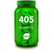 405 Vitamine D3 15 mcg - 180 Tabletten AOV
