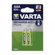 Varta 58398 - 2 buc Baterii reîncărcabile ACCU AAA NiMH/800mAh/1,2V