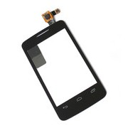 Тъч скрийн за Alcatel One Touch Pixi Черен