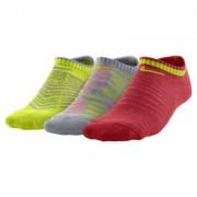 Nike Graphic Cotton Cushion No-Show Kids' Socks (3 Pair)