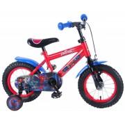 Bicicleta baieti 12 inch cu roti ajutatoare Spiderman Volare
