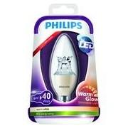Philips LED WARMGLOW KRON PHILIPS KLAR 6W(40W) E14 2200–2700 K DIM
