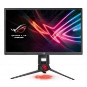 Asus ROG Strix XG248Q Gaming-Monitor »60,5 cm (23,8)FHS Display, 1 ms«, dunkelgrau-rot, Energieeffizienzklasse B