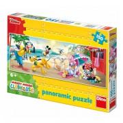 DINO TOYS PUZZLE - CLUBUL LUI MICKEY MOUSE - LA PLAJA (150 PIESE) (393196)