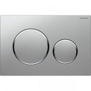 Geberit Sigma20 bedieningsplaat kleuren:plaat ring knop matchroom chroom mat-chroom 115882kn1