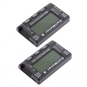 MagiDeal 2x RC CellMeter 8 LCD Display Battery Capacity Voltage Checker Balance Discharger/Servo Tester