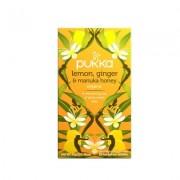 Lemon ginger manuka honey