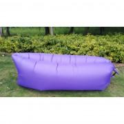 Saltea gonflabilă Lazy Bag, violet