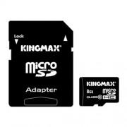 CARD DE MEMORIE KINGMAX MICROSDHC 8GB + ADAPTOR SD