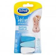 Scholl Velvet Smooth Nail Care ricambi lime per Kit Elettronico, 3 pezzi