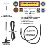 AntennaGear 7dB Verizon Wireless UM175, Alltel UM175 / UM175AL USB Modem External Antenna w/OEM SMK TS-9