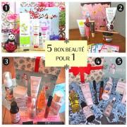 BIOTYFULL Box 5 Box Beauté pour 1
