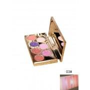 Rosegal 8 Couleurs Palette d'Ombres à Paupières Maquillage de Beauté