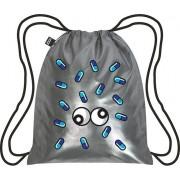 LOQI Plecak LOQI Metallic Matt Pop Silver