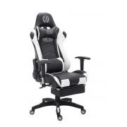 CLP Sedia da ufficio XL Turbo , nero/bianco , nero/bianco, altezza seduta