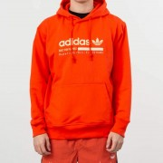 adidas Kaval Graphic Hoodie Semi Solar Red