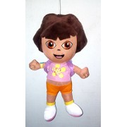 Beautiful Dora with Bubble Stick,Bag And Map(Puzzle) - Ultra Soft Plush Toy Kids Birthday Gift 25 cm - iPearl
