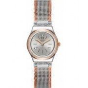 Swatch Ladies Full Silver Jacket Watch