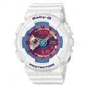 reloj de mujer de cuarzo casio baby-g BA-112-7A - esfera multicolor blanco