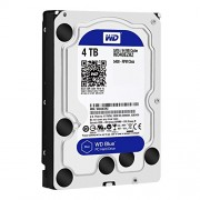 "Disco duro interno WD Blue 3.5"" 4TB SATA3 6GB/S 64MB 5400RPM, WD40EZRZ"