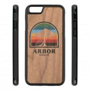 Arbor Obal na telefon Arbor Rainbow Tree Iphone 6/6S walnut