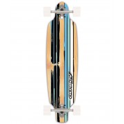 Osprey 39 Twin Tip Drop Through Longboard - Flint Blue