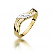 Biżuteria SAXO 14K Pierścionek z brylantami 0,02ct W-109 Złoty GRATIS WYSYŁKA DHL GRATIS ZWROT DO 365 DNI!! 100% ORYGINAŁY!!