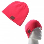 Bluetooth 4.2 Stereo Headphone Warm Winter Knitted Hat with Microphone - Red