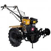 Motosapa diesel ProGARDEN HS1100A, 7 CP, 3 viteze, latime lucru 120 cm, roti 5.00x12