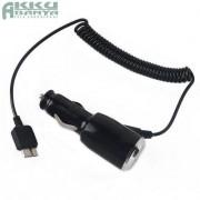 USB 3.0 Micro-B csatlakozású autós töltő 2A