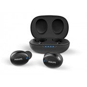 HEADPHONES, Philips UpBeat, Microphone, Bluetooth, 6 мм мембрани/затворен гръб, Black (TAUT102BK)
