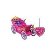 Veiculo com Controle Remoto Carruagem Mágica das Princesas Candide