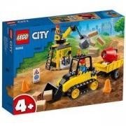 Конструктор Лего Сити - Строителен булдозер, LEGO City Great Vehicles 60252